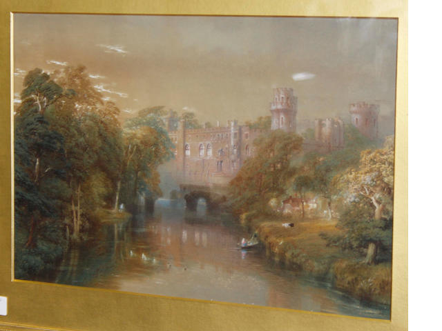 John Cooke Bourne (British, 1814-1896) Warwick Castle
