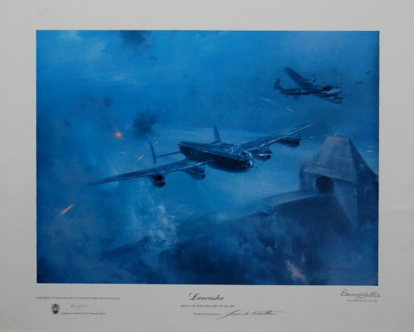 Frank Wootton (British, 1914-1998) 'Lancaster',