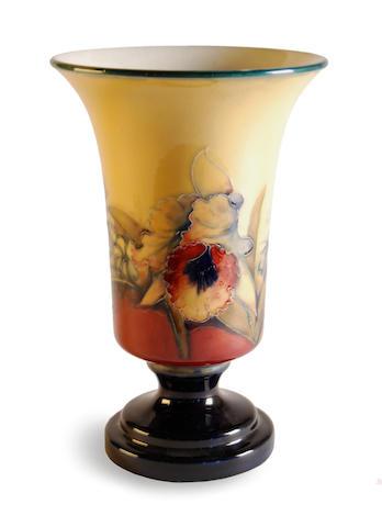 oorcroft footed vessel/lamp