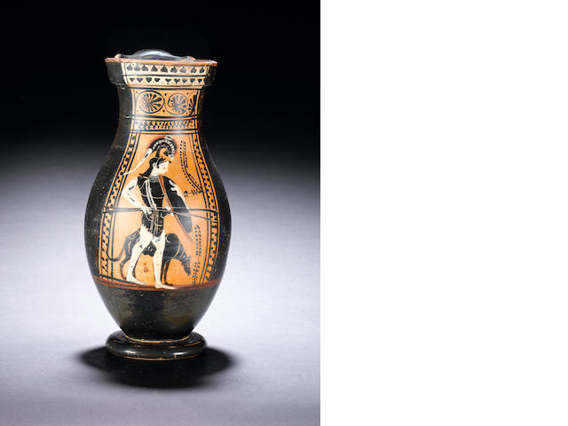 An Attic black-figure olpe