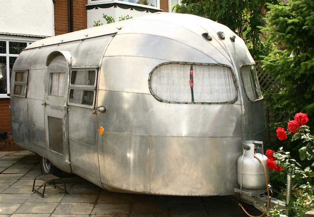 c.1948 Curtis Wright Travel Trailer  Chassis no. 8215
