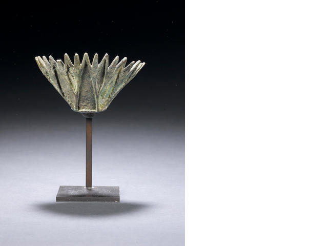 An Egyptian bronze lotus flower - Need more provenance from Rupert Wace