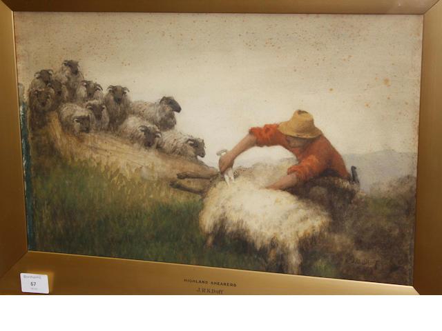 J. R. K. Duff Highland Shearers