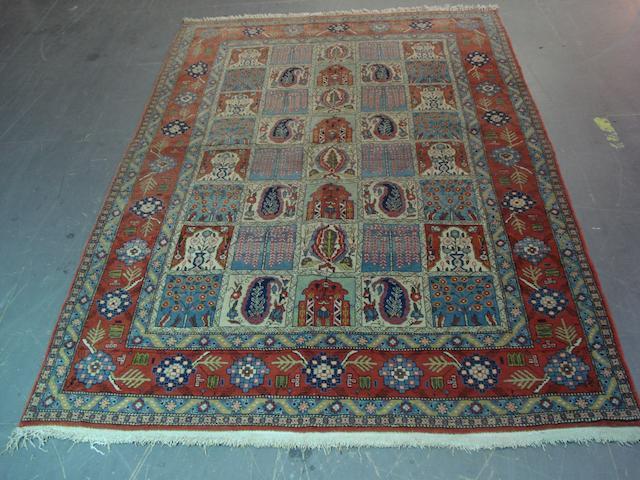 A Ghom rug Central Persia, 228cm x 144cm