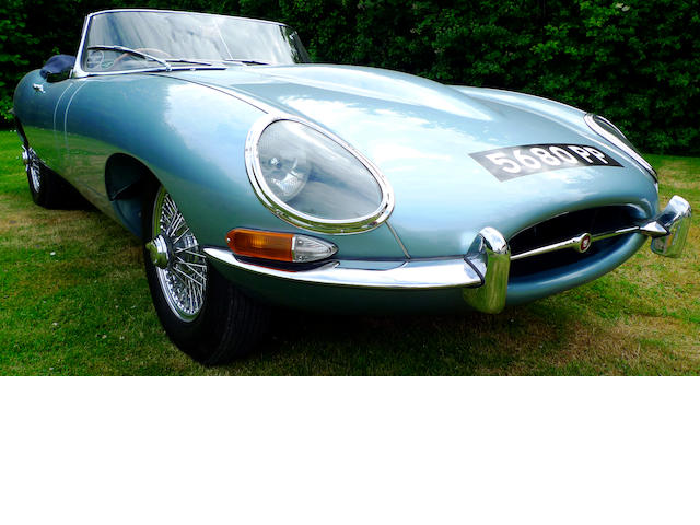 1962 Jaguar E-Type Series I 3.8-Litre Roadster  Chassis no. 860201 Engine no. R3859