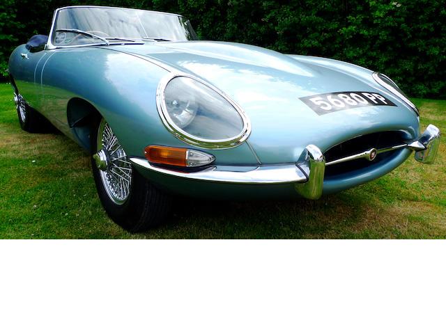 1962 Jaguar E-Type Series I 3.8-Litre Roadster  Chassis no. 860201 Engine no. R3859