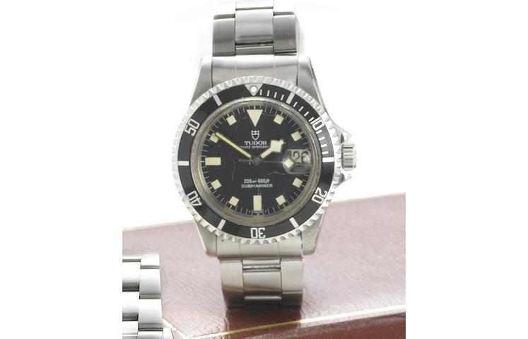 "Tudor. A collectable stainless steel automatic wristwatch Submariner Prince Oysterdate ""Snowflake"", Reference 94110, Case Number 961087, Circa 1973"
