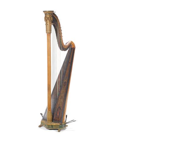 A single action harp