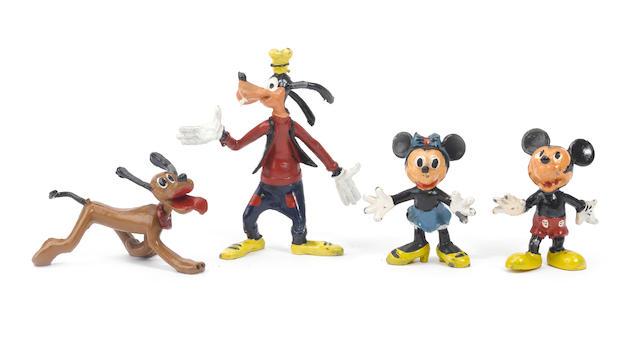 Sacul RARE hollowcast DISNEY Cartoon Figures 4