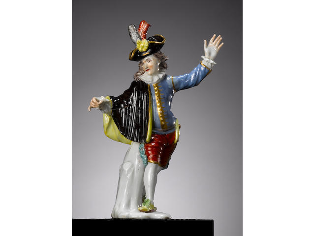 A Meissen figure of Beltrame