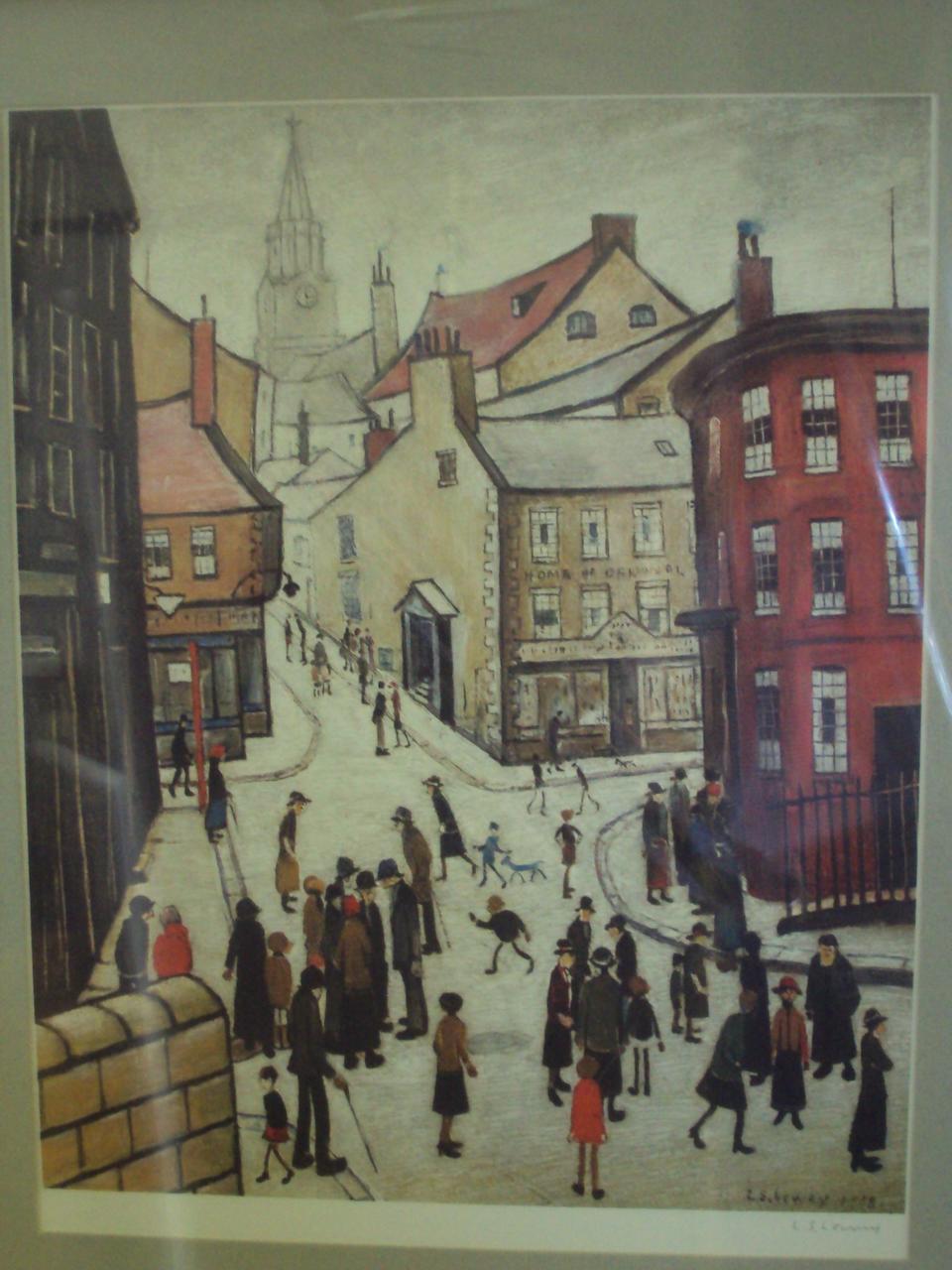 Laurence Stephen Lowry R.A. (British, 1887-1976) 'Berwick-Upon-Tweed',