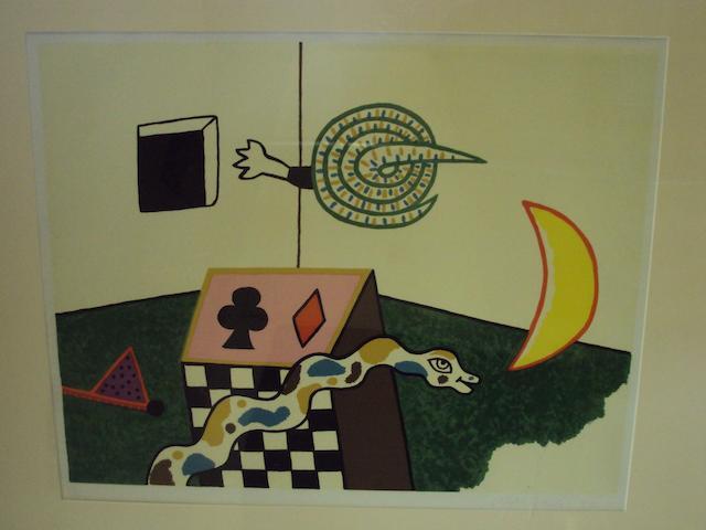 Alan Davie, (British, born 1920) Untitled, 1972