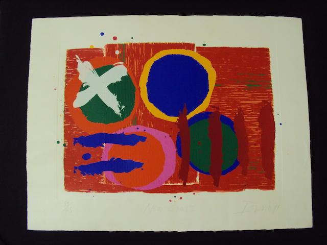 Albert Irvin (British, born 1922) 'New Cross'
