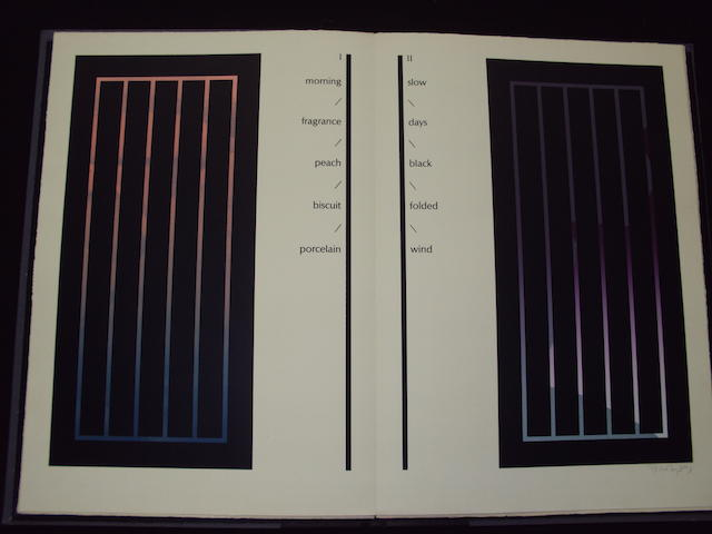 Ian Tyson (British, 1933) Screens I-XIV Portfolio of colour screenprints, 1976 with title and justification pages