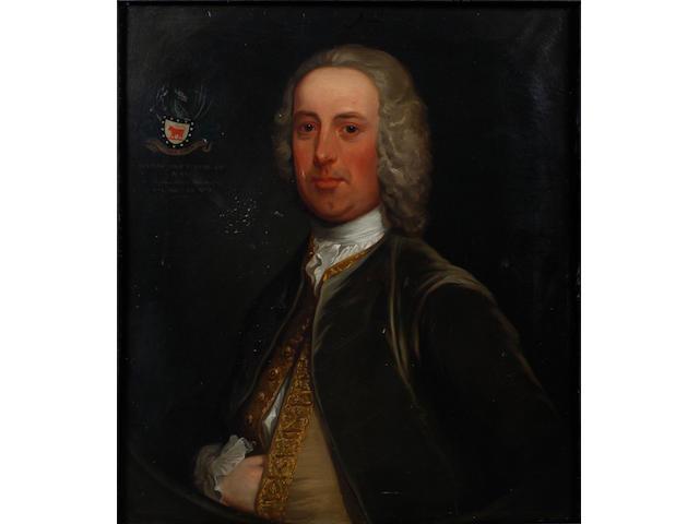 Manner of Joseph Highmore Portrait of Stephen Cole Esq. JP