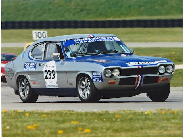 Formerly the property of Clay Regazzoni, François Mazet,c.1971 Ford Capri RS2600 Coupé  Chassis no. GAEC KG 59310