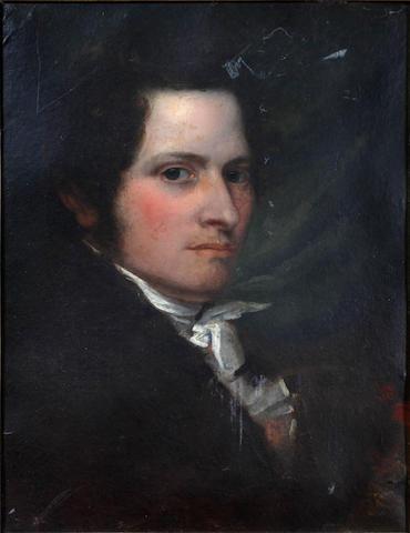 Matthew Shepperson (British, 1785-1874) Self portrait