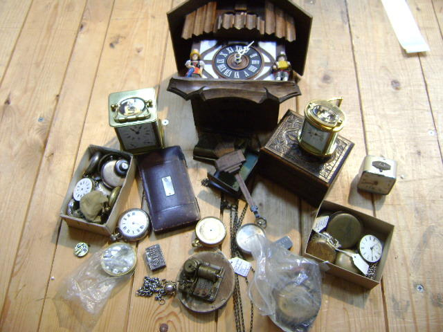Clocks and Watches various,