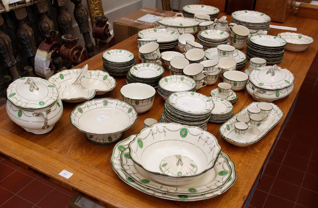 An extensive Royal Doulton 'Countess' pattern  dinner, breakfast, tea and coffee service,