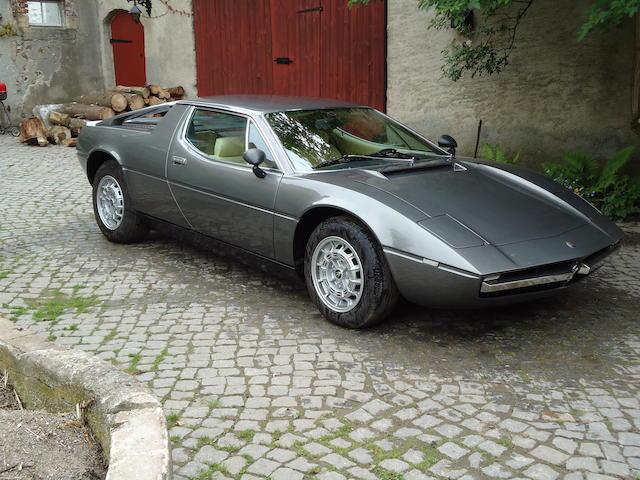 Coachwork by Italian Design,1977 Maserati Merak  Chassis no. AM122 0124