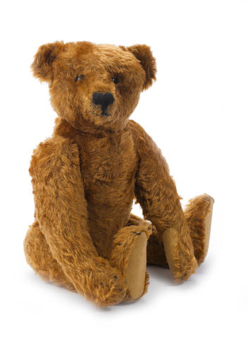 Good Cinnamon Steiff Teddy bear, 1905-07
