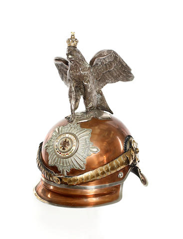 Imperial German Guarde du Corps Officer's Helmet
