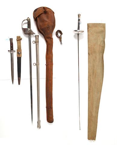 An 1897 Pattern Engineer Officer's Sword