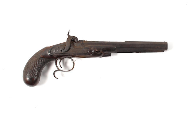 A Percussion Duelling Pistol