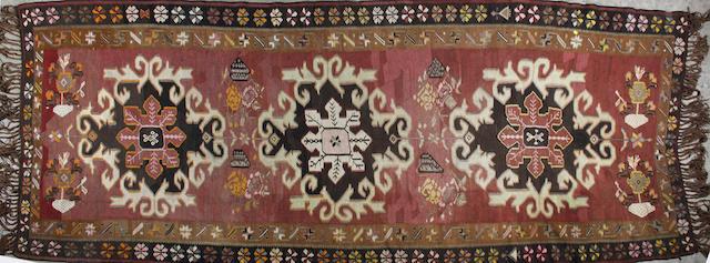 A Karabagh kelim 386 x 150cm.