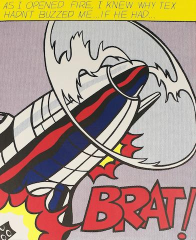 Roy Lichtenstein (American, 1923-1997) 'As I Opened Fire', 1964