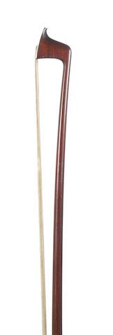 A silver mounted Violin Bow by E.Sartory, Paris (1)