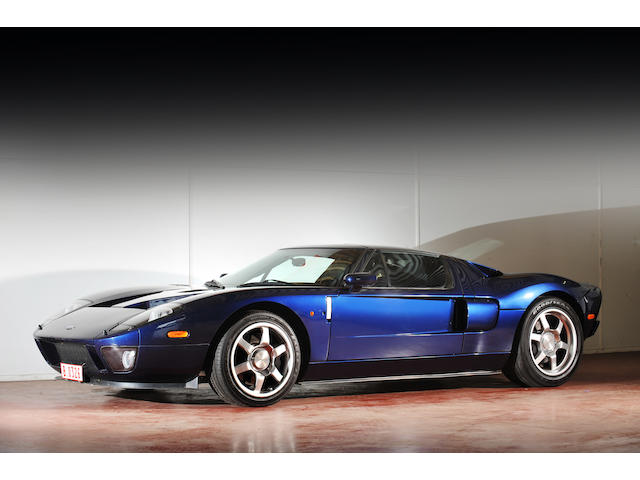One owner from new,2005 Ford GT Coupé  Chassis no. 1FAFP90S65Y401272