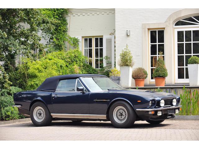 1986 Aston Martin V8 Volante , Chassis no. SCFCV81C6GTR15493