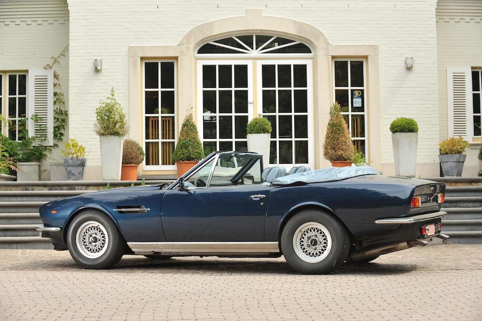 1986 Aston Martin V8 Volante  Chassis no. SCFCV81C6GTR15493