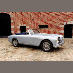 1957 Aston Martin DB2/4 MKII Drophead Coupé, Chassis no. AM300/1281 Engine no. VB6J/900