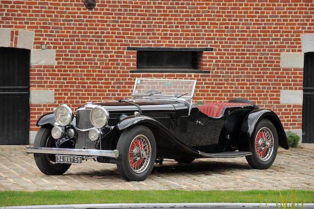 1934 Alvis Speed Twenty 4.3-Litre Tourer  Chassis no. 11174 Engine no. 14196.31-48