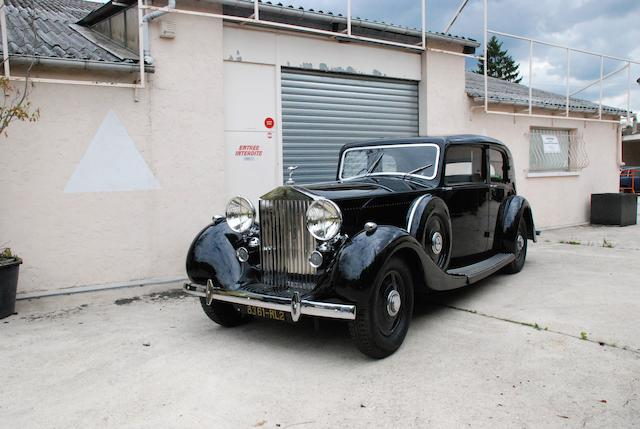 1937 Rolls-Royce Phantom III Touring Limousine  Chassis no. 3CP26 Engine no. J98S