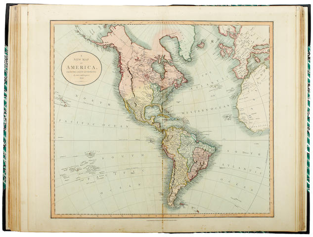 CARY (JOHN) Cary's New Universal Atlas containing distinct Maps of all the Principal States and King