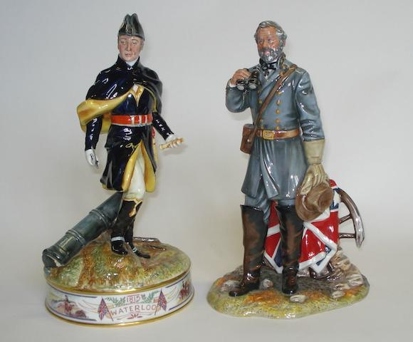 Figurines Two Royal Doulton colour trial prototype figures