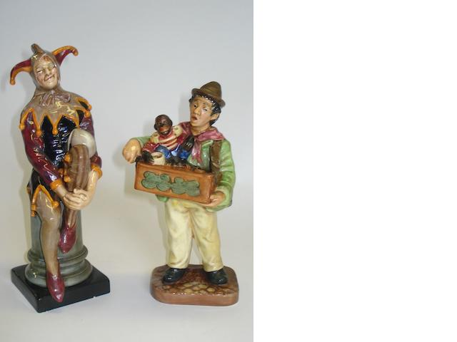 Figurines Two Royal Doulton figures