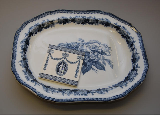 A Copeland Spode well-and-tree dish