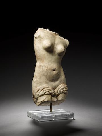 A torso of Aphrodite