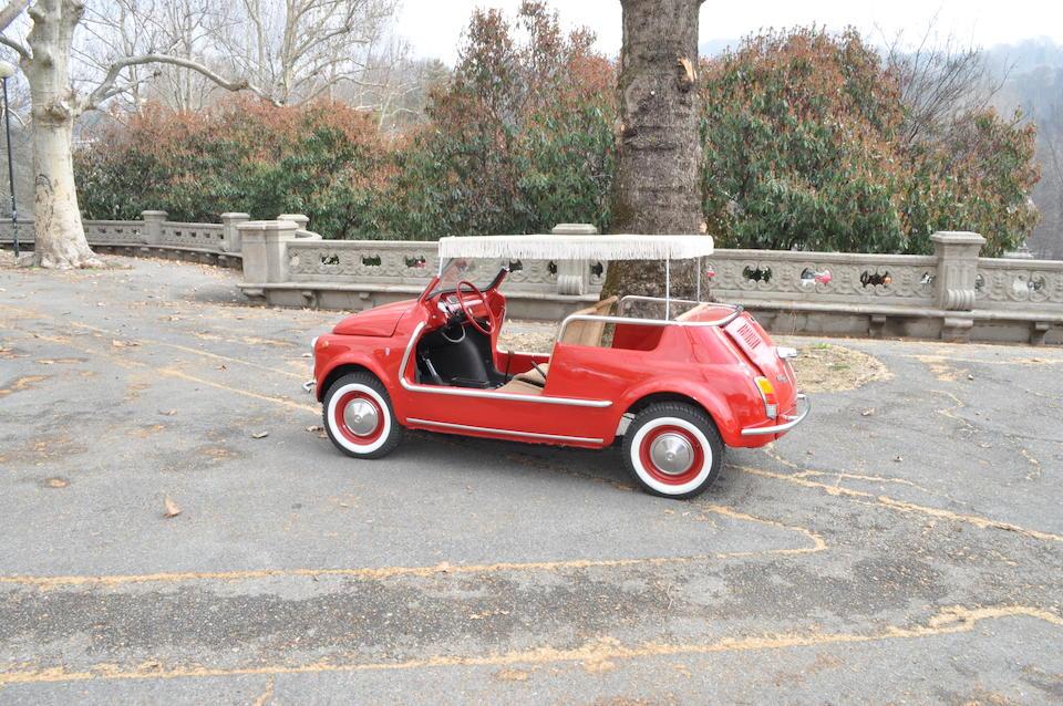 1970 Fiat 500 Jolly Beach Car Replica  Chassis no. 110F 2986086 Engine no. 110F 000