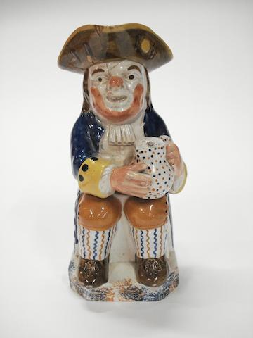 A Yorkshire Toby jug, circa 1820