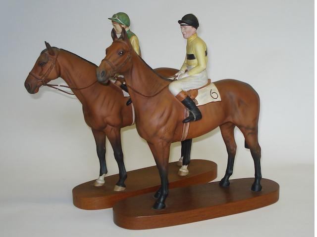 Two Beswick Connoisseur series horse figures
