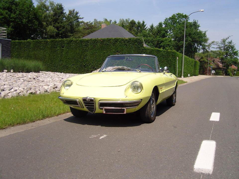 1968 Alfa Romeo 1750 Spider Veloce  Chassis no. AR 1481348