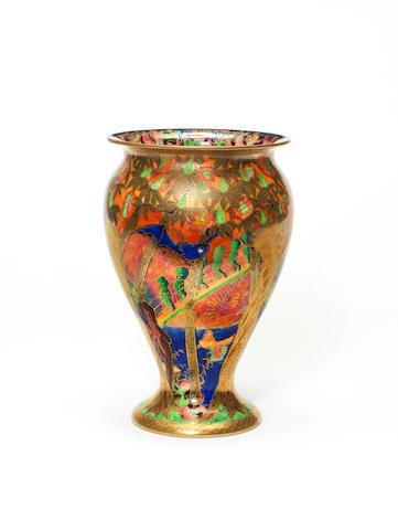 Wedgwood Fairylnad Flame vase