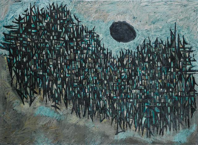 (n/a) Sadequain (Pakistan, 1937-1987) For Example Paris,