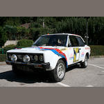 ,1977 FIAT 131 Abarth  Chassis no. 0332763 Engine no. DMG137840M