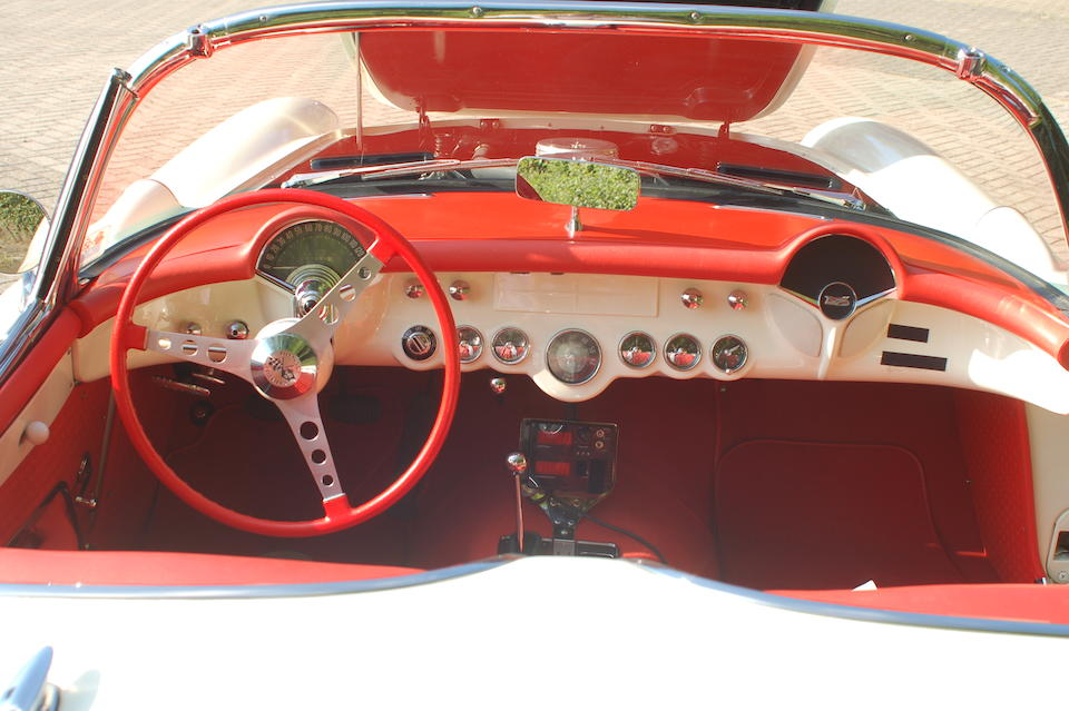 NCRS restored,1957 Chevrolet Corvette Roadster  Chassis no. E57S100230